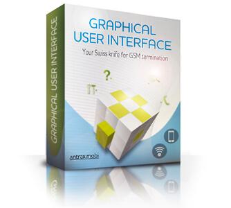 Графический интерфейс системы Антракс voip gsm терминация